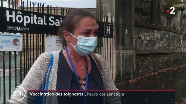 COVID-19 : les soignants non-vaccinés sanctionnés