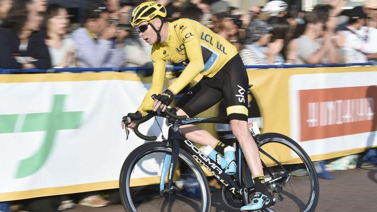 (Christopher Froome, vainqueur du Tour de France 2015  © MaxPPP)