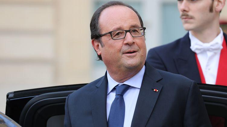 L'ancien chef de l'Etat, François Hollande, le 15 septembre 2017 à Paris. (LUDOVIC MARIN / AFP)