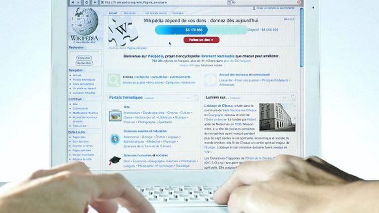 Internet supplée désormais les encyclopédies papier  (Bertrand Bechard / MAXPPP Nantes)