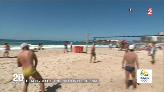 Beach-volley : une passion brésilienne