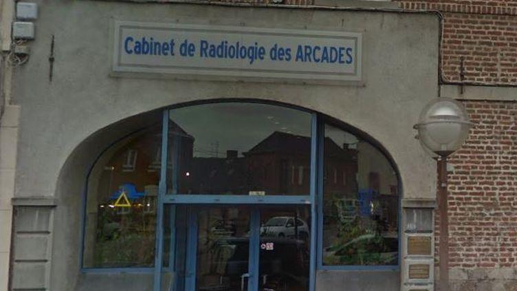 Le cabinet de radiologie de Sin-le-Noble (Nord), en mai 2016. (GOOGLE STREET VIEW)