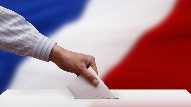 Les prochaines échéances électorales et le vote des Français, en ces temps de crise sanitaire. (Illustration) (IMAGESTOCK / E+ / GETTY IMAGES)