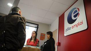 Une agence Pôle emploi à Vincennes (Val-de-Marne), le 24 avril 2013. (ANTOINE ANTONIOL / GETTY IMAGES EUROPE)