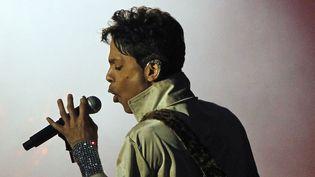 Le chanteur Prince au Hop Farm Festival en 2011  (IPA PRESS/SIPA)