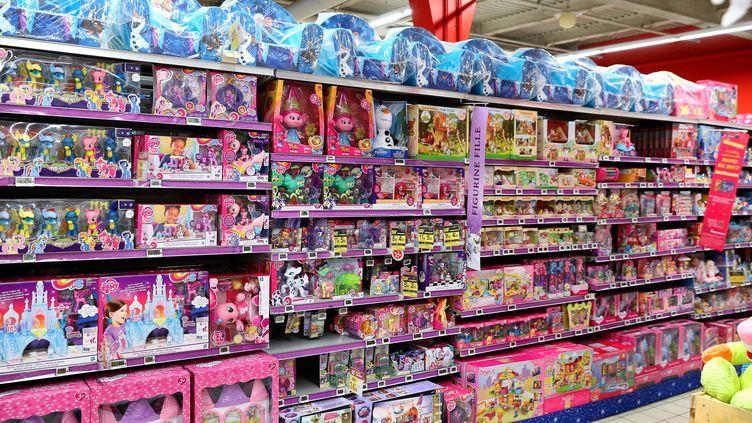 Photo d'illustration. Les publicités pour les jouets de Noël arrivent, à deux moins de Noël. (GREGORY YETCHMENIZA / MAXPPP)