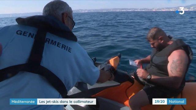 Marseille : les scooters des mers dans le collimateur des gendarmes