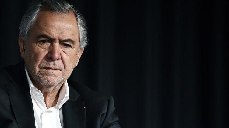 René Bouscatel, ancien président du Stade toulousain, en 2017. (PASCAL PAVANI / AFP)