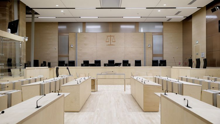 La cour spéciale où se tiendra le procès des attentats du 13 novembre 2015 à Paris. (BRUNO COUTIER / BRUNO COUTIER)