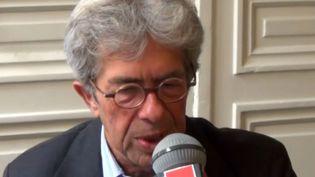 Jean-Michel Lambert, juge d'instruction de l'affaire Grégory,le28 août 2014. (France Inter)