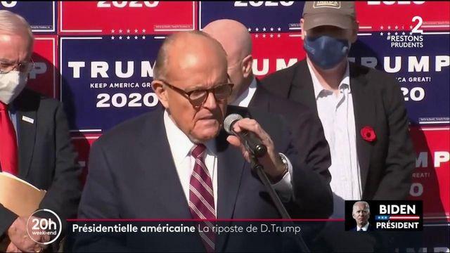 Présidentielle américaine : les avocats de Donald Trump préparent la riposte