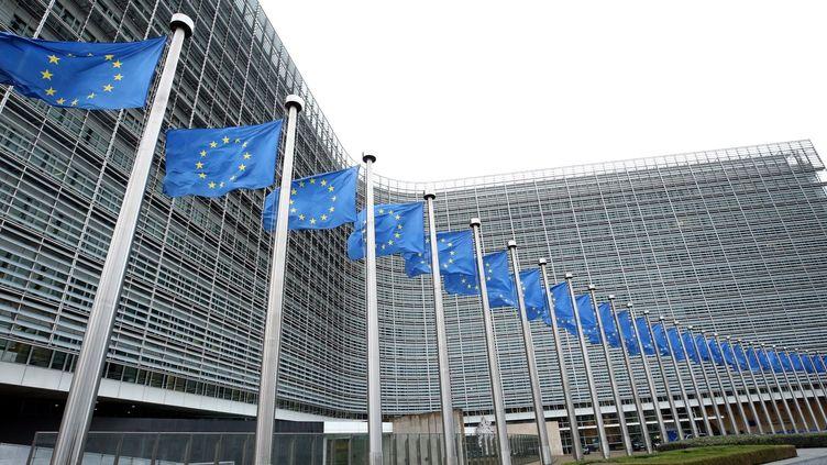 Les bureaux de la Commission européenne à Bruxelles.  (DURSUN AYDEMIR / ANADOLU AGENCY)