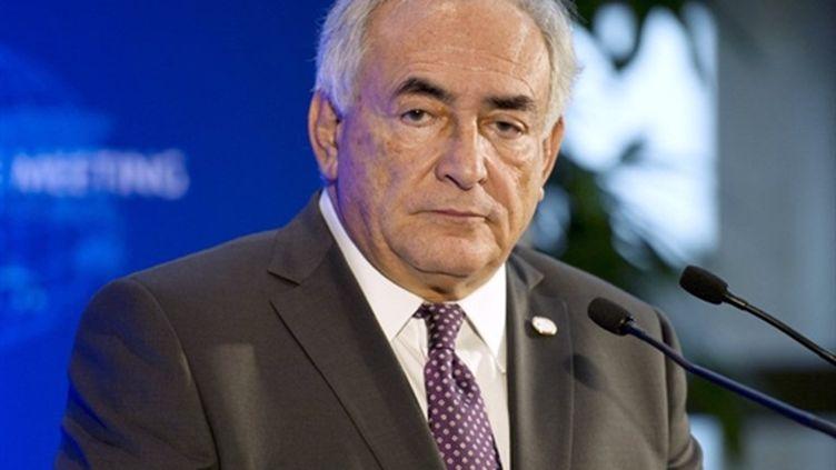 Dominique Strauss-Kahn, le patron du FMI. (AFP - Fred Dufour)