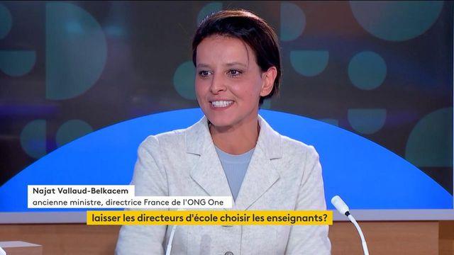"""Emmanuel Macron """"a l'art de gâcher les bonnes idées"""", estime Najat Vallaud-Belkacem"""