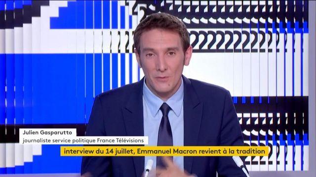 Interview du 14-Juilet : Emmanuel Macron renoue avec la tradition