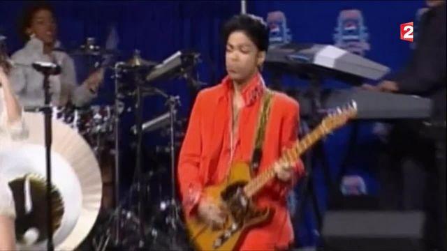 Décès de la star américaine Prince à l'âge de 57 ans