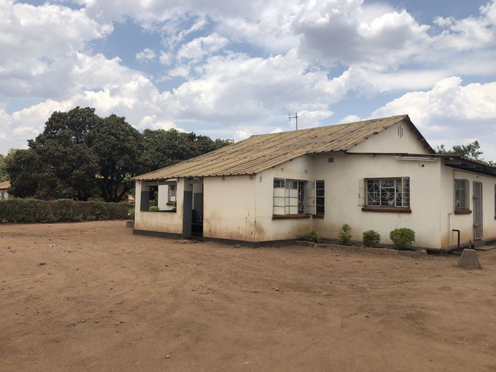 Centre de santéà Kabwe, où ont été révélées des concentrations de plomb dangereuses..    (Zama Neff / Human Rights Watch 2018)