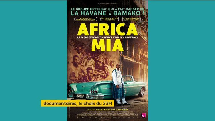 "L'affiche du documentaire ""Africa Mia"" (FRANCEINFO)"