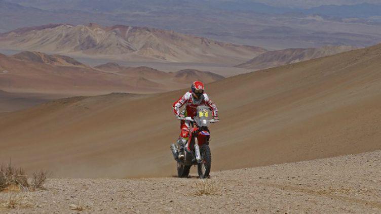 Joan Barreda rêve de remporter son premier Dakar