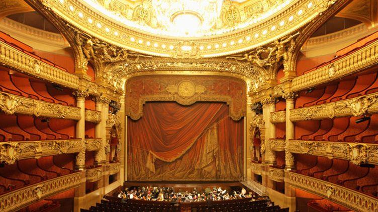 La salle de l'Opéra Garnier à Paris  (GettyImages)