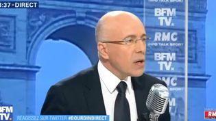Le député LR Eric Ciotti sur BFMTV, mercredi 3 janvier. (BFMTV)