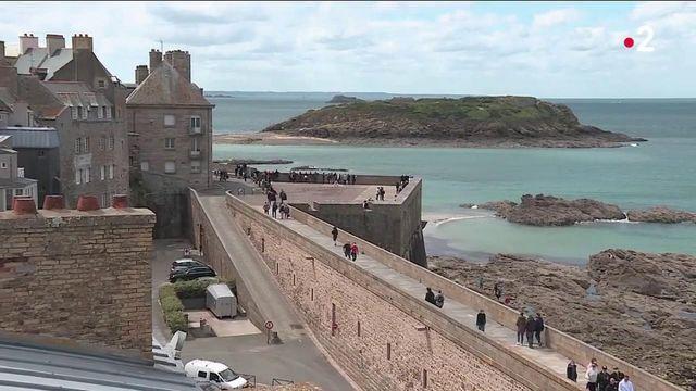 Covid-19 : Saint-Malo s'organise face à l'afflux de touristes pour les vacances d'été