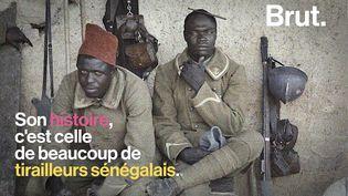 VIDEO. David Diop revient sur l'histoire des tirailleurs sénégalais (BRUT)