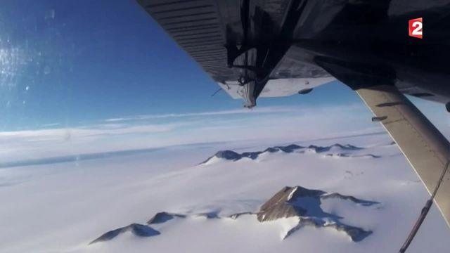 Climat : un couple de Français traverse l'Antarctique