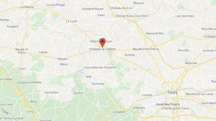 Des milliers de poissons morts ont été retrouvés sur les berges du lac du Val Joyeux à Château-la-Vallière (Indre-et-Loire). (GOOGLE MAPS)