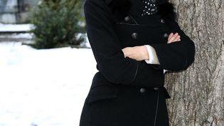 La journaliste Marie-Sophie Lacarrau, présentatrice du journal de 13 heures de France 2, le 10 février 2018, à Luchon (Haute-Garonne). (JEAN-MARC HAEDRICH / SIPA)