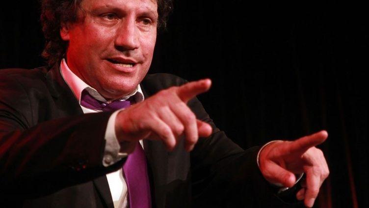 Laurent Violet à Lyon sur la scène de l'Espace Gerson  (Jean-François Lixon)