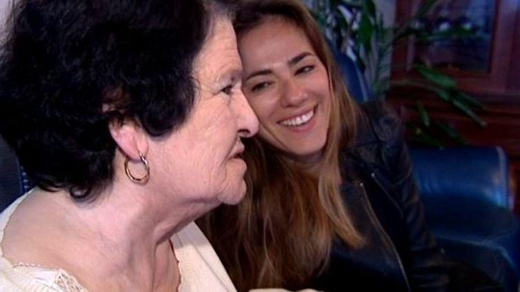 Sylvie Ohayon et sa grand-mère Margot  (France3/Culturebox)