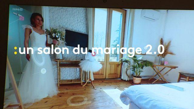 Un salon du mariage virtuel