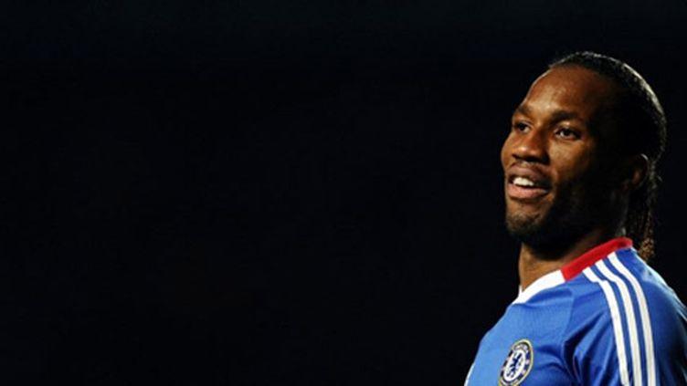 L'attaquant de Chelsea, Didier Drogba