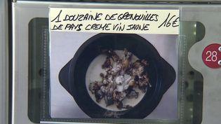 Restauration : dans le Doubs, des cuisses de grenouilles à retirer directement au distributeur (FRANCE 3)