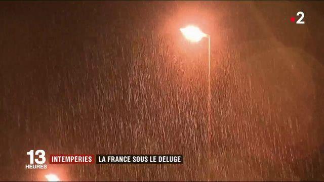Intempéries : la France sous le déluge