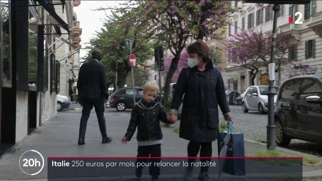 Italie : le gouvernement offre une aide exceptionnelle aux familles pour relancer la natalité