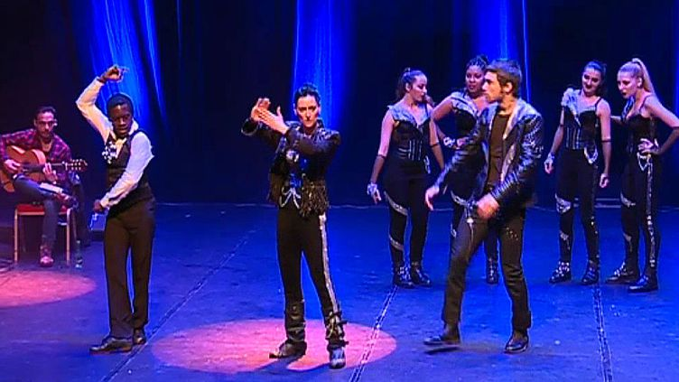 "L'univers de Mickael Jackson revisité avec des ryrhmes de Flamenco dans le spectacle ""Flamenco Tribute to Michael Jackson""  (France 3)"