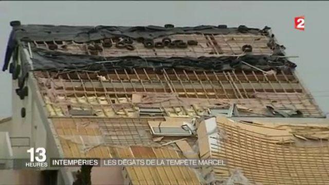 Intempéries : les dégâts de la tempête Marcel