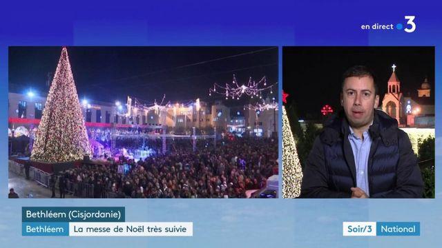 Moyen-Orient : la messe de Noël très suivie à Bethléem