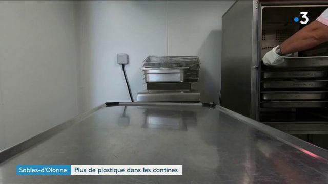 Sables-d'Olonne : plus de plastique dans les cantines