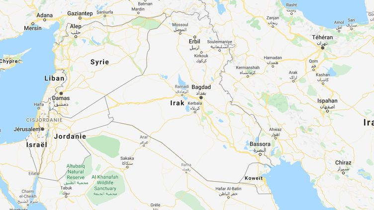 Quatre collaborateurs de l'association SOS Chrétiens d'Orient ont disparu vendredi 24 janvier 2020. (GOOGLE MAPS)