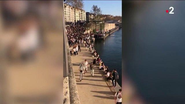 Covid-19 : les fêtes en plein air à Lyon, Lille et Marseille