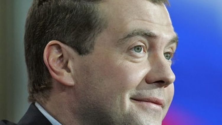 Le président russe élu, Dmitri Medvedev (© AFP - Artyom Korotayev)