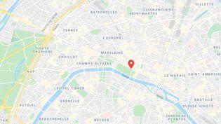 Un enfant de deux ans est mort jeudi 25 septembre dans le premier arrondissement de Paris, percuté par un camion-benne. (GOOGLEMAPS)