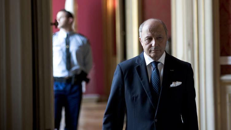 Le ministre des Affaires étrangères Laurent Fabius, le 26 juillet 2014, à Paris. (NICOLAS MESSYASZ / SIPA)