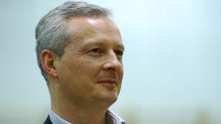 Bruno Le Maire, lors d'un meeting de soutien au candidat UMPpour la mairie de Valence (Drôme),le 5 décembre 2013. (CITIZENSIDE / CHRISTOPHE ESTASSY / AFP)