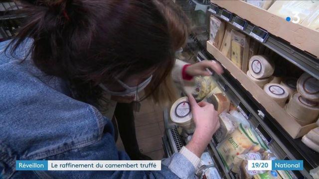 Fêtes : le camembert fourré aux truffes d'un meilleur ouvrier de France