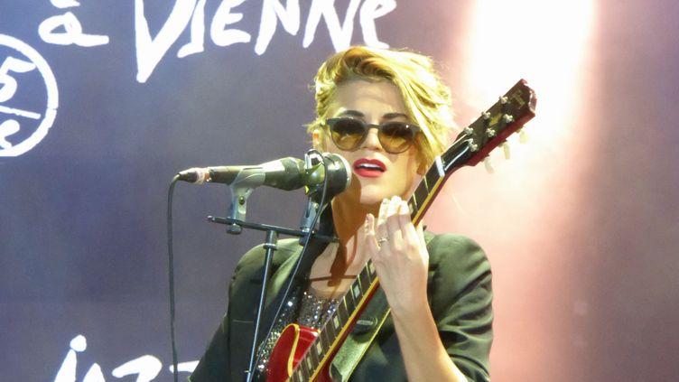 Melody Gardot sur scène à Vienne  (Olivier Flandin)