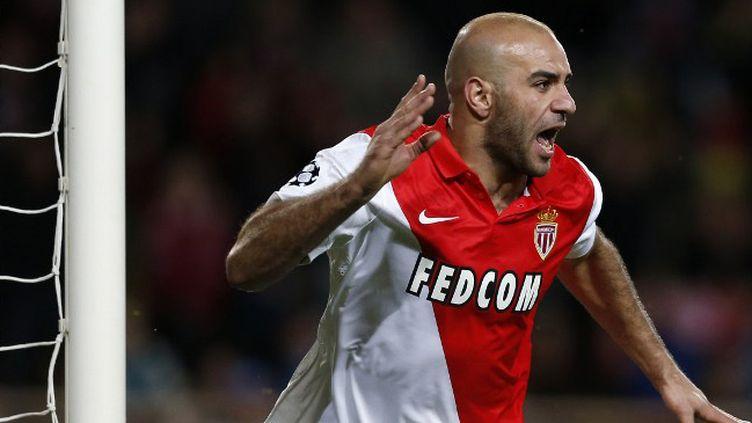 Aymen Abdennour avait donné l'avantage au Rocher de l'épaule. (VALERY HACHE / AFP)